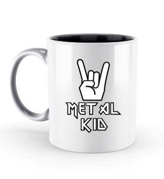 Heavy Metal Kid Kind Tasse Geschenk