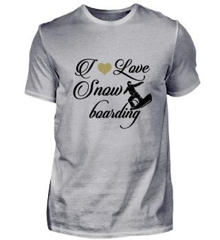 ☛ I LOVE SNOWBOARDING #3SG
