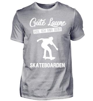 Gute Laune ... Skateboarding