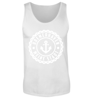 Bremerhaven Tank Top Black