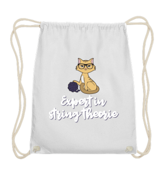 Cat Expert In String Theory Wool Gift
