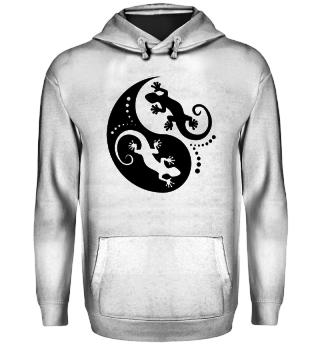 ♥ Yin Yang Geckos - Free Black