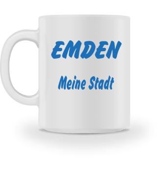 Tasse Emden mit Name