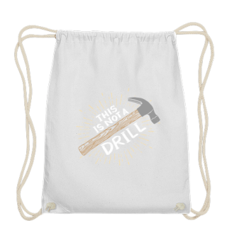 Carpenter Apron / This is not a drill