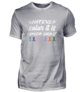 Cancer Sucks Awareness Month cancer awar