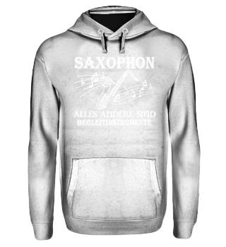 Saxophon - Begleitinstrumente