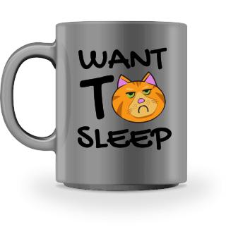 Want to sleep