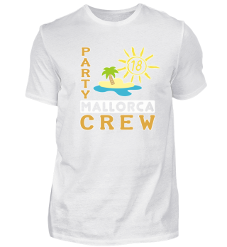 Party Crew Mallorca Geschenk