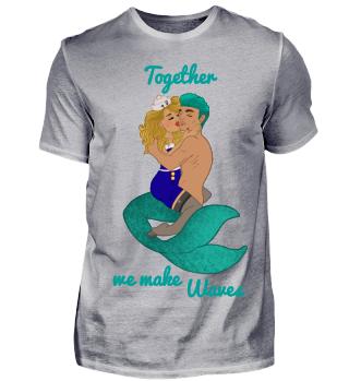 Zusammen Wellen machen
