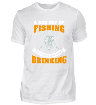 Funny Fisherman Shirt - A bad day