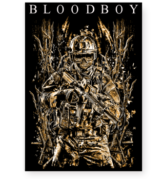 BLOODBOY WAR POSTER