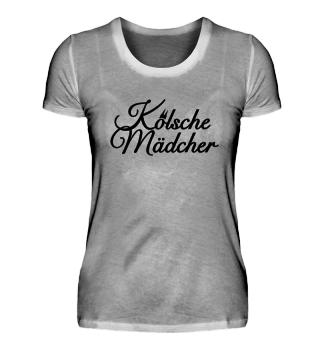 Kölsche Mädcher Köln T-Shirts