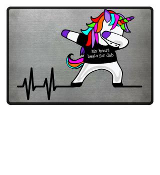 Dabbing Unicorn - Heartbeats Dab 1