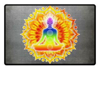 ♥ Yoga Lotus Chakra Meditation III Frau