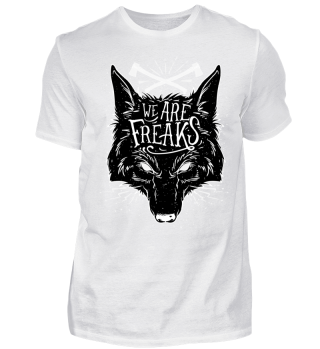 Herren Kurzarm T-Shirt We Are Freaks Ramirez