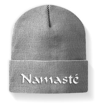 ♥ Embroidery - Namasté