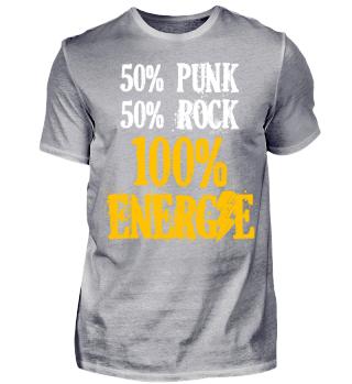 PUNK und ROCK = 100% ENERGIE