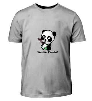 Sei ein Panda!