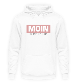 Moin by Baltic Vibes Rosé Hoodie