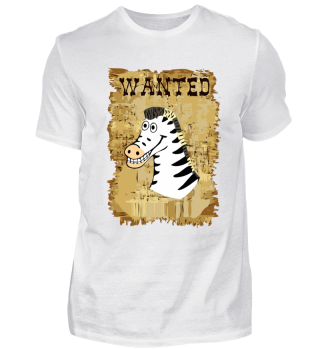 Wanted Western Zebra as a cool gift idea