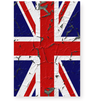 ★ United Kingdom grunge Flag vertical