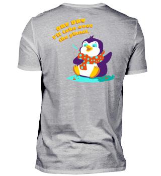Weltherrschaft Pinguin Geschenk