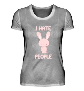 I Hate People Hasse Menschen Geschenk