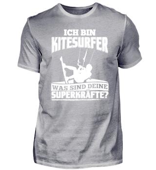Lustiges Kitesurfer Shirt Ich Bin