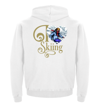 ☛ I LOVE SKIING #1G