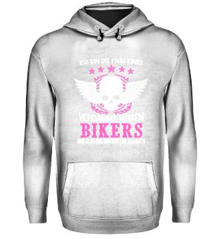 Motorrad ich bin die frau eines Bikers