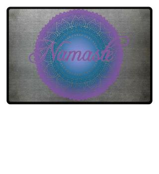 Ethno Folklore Lotus Mandala Namasté 2c