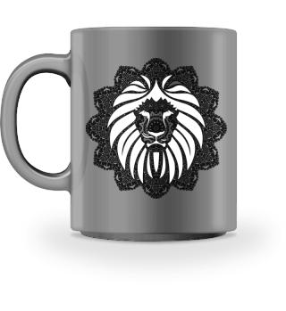 ♥ Vintage Ornaments Mandala I Lion IV
