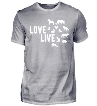Love live ... Tiere