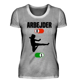 Arbejder Karate gave t-shirt