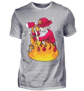 Feuerwehr Santa Weihnachten Xmas