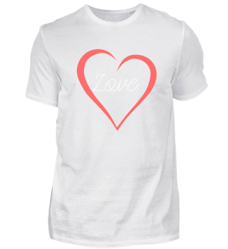 Love Lettering Curved Heart As A Gift