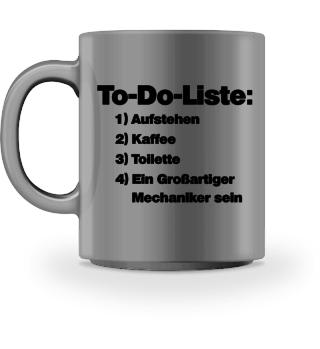 To-Do: Großartiger Mechaniker sein - Geschenk