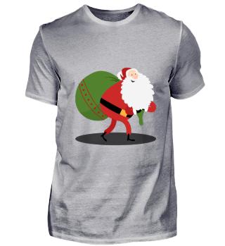 Weihnachtsmann Weihnachten Sack Geschenk