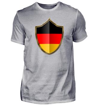 Deutschland-Germany Wappen Flagge 016
