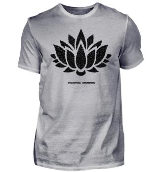 Lotus bewusstsein spiritualität tshirt