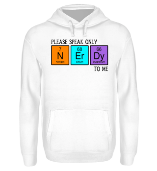 Chemical Elements - speak NERDY - black