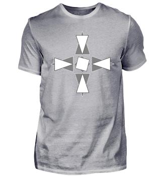 Gegensätzliche Dreiecke Geschenk, Idee