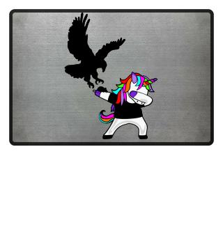 Dabbing Rainbow Unicorn - Eagle Mouse 1