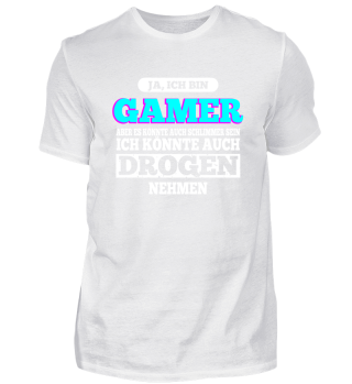 Gamer Zocker Spieler Konsole Geschenk