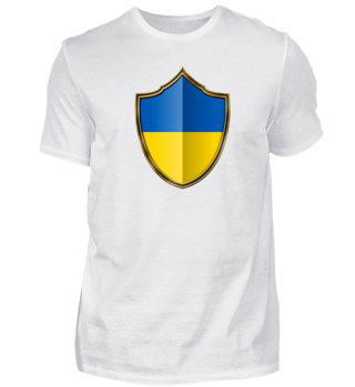 Ukraine Wappen Flagge 016
