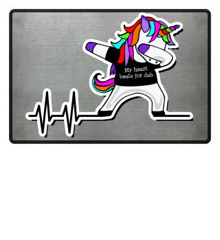 Dabbing Unicorn - Heartbeats Dab 2