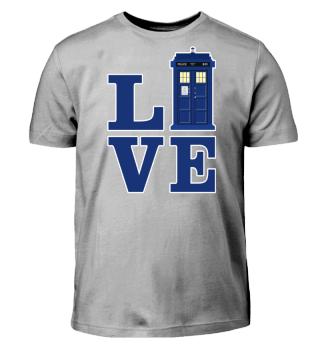 ★ Love Blue Travel Police Box II
