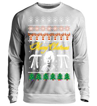 Nerd Einstein Ugly Christmas Sweater