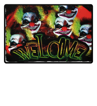 Horror Clown - Welcome fullprint