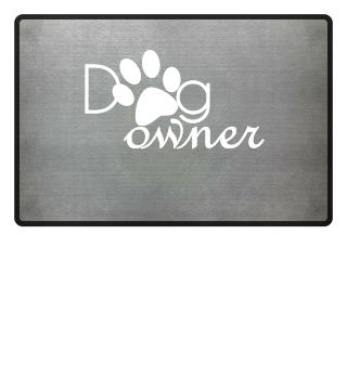 Hundebesitzer Fußmatte Dog owner Matte